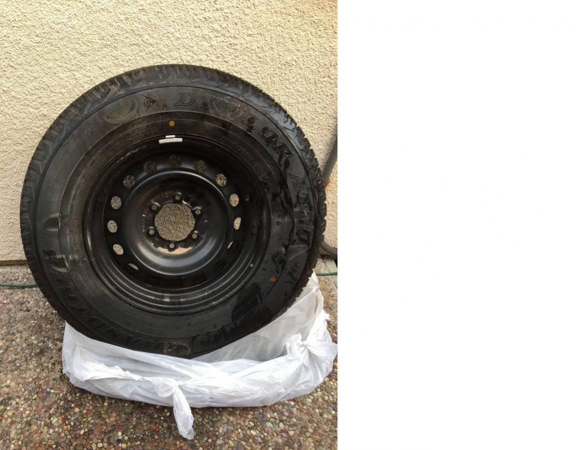 Used Tires San Jose >> Fs 5th Gen Never Used Spare Wheel And Tire San Jose Ca 80
