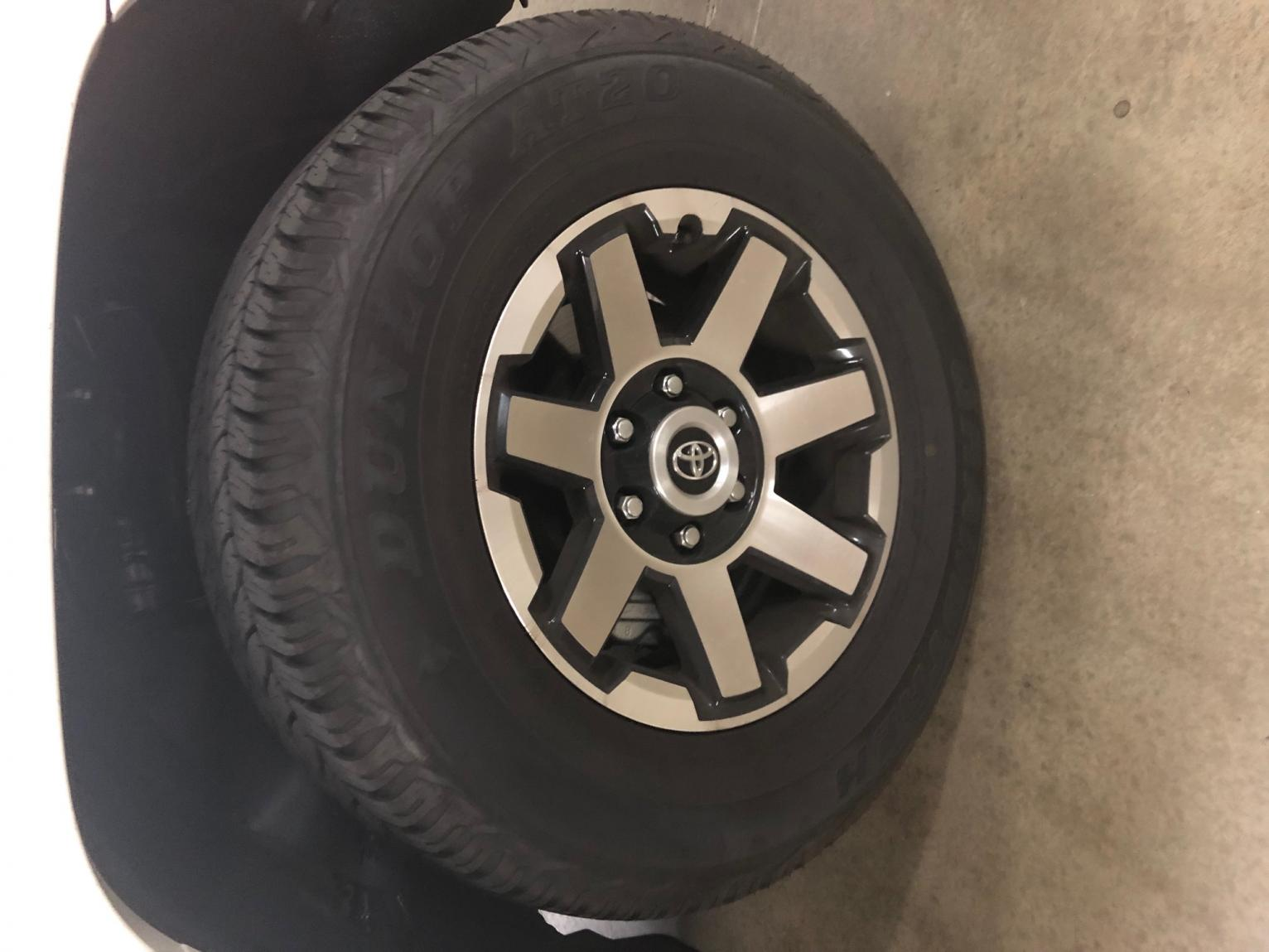 For Sale: 2019 TRD Off Road Premium Wheels and Tires - 0 (Chicago, IL)-img_1962-jpg
