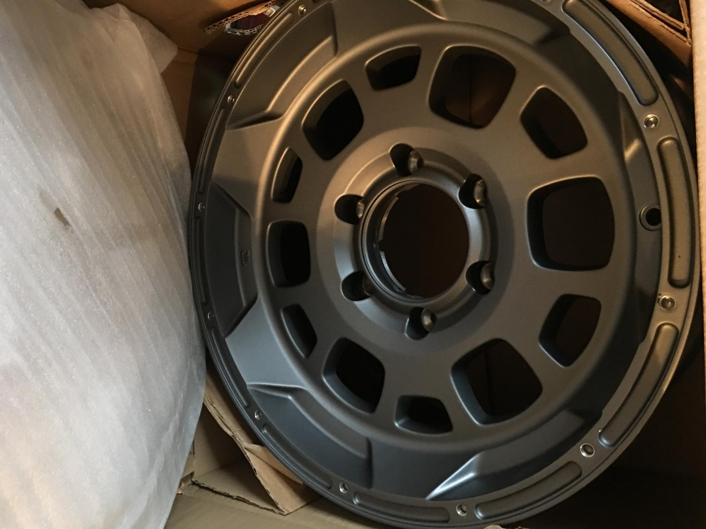 Set of New TRD Beadlock Style Wheels - 0-img_8054-jpg