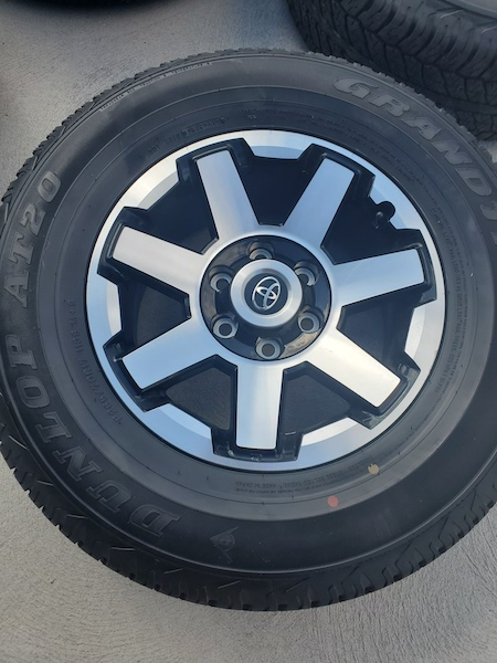 SOLD. FS 2019 ORP Wheels and Tires. SE Michigan 0. Takeoffs with 100 miles on them-20191009_130730-jpg