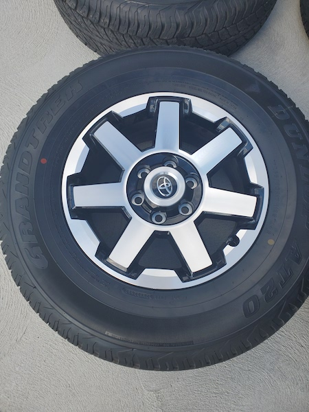 SOLD. FS 2019 ORP Wheels and Tires. SE Michigan 0. Takeoffs with 100 miles on them-20191009_130740-jpg