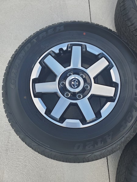SOLD. FS 2019 ORP Wheels and Tires. SE Michigan 0. Takeoffs with 100 miles on them-20191009_130743-jpg