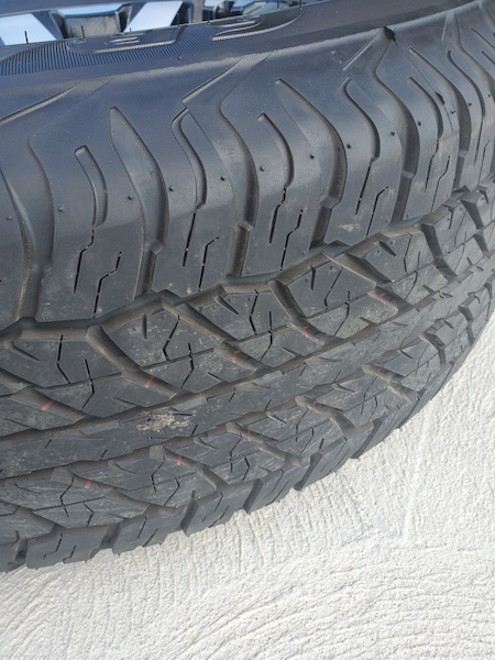 SOLD. FS 2019 ORP Wheels and Tires. SE Michigan 0. Takeoffs with 100 miles on them-20191009_130755-jpg