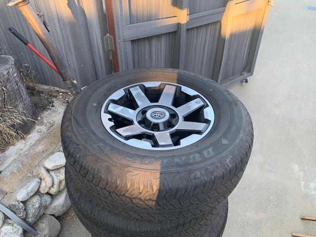 FS: 2019 4Runner stock wheels and tires (basically new) - 0 - Upland, CA-img_0277-jpg