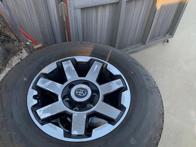 FS: 2019 4Runner stock wheels and tires (basically new) - 0 - Upland, CA-img_0278-jpg