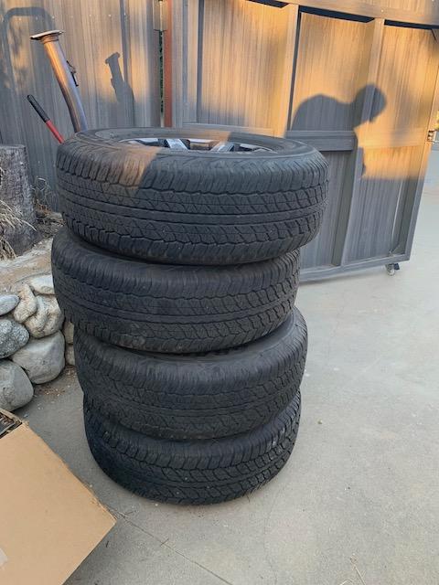 FS: 2019 4Runner stock wheels and tires (basically new) - 0 - Upland, CA-img_0280-jpg