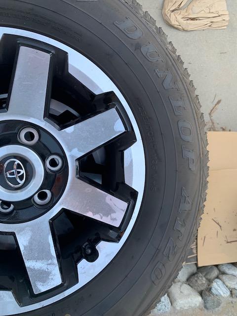 FS: 2019 4Runner stock wheels and tires (basically new) - 0 - Upland, CA-img_0284-jpg