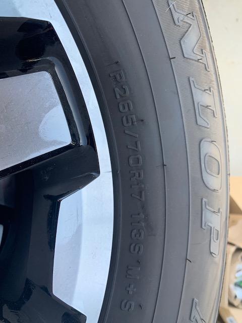 FS: 2019 4Runner stock wheels and tires (basically new) - 0 - Upland, CA-img_0285-jpg