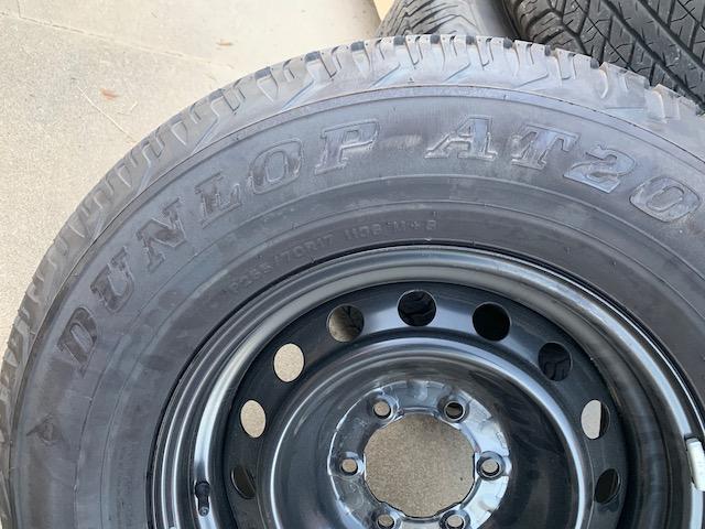 FS: 2019 4Runner stock wheels and tires (basically new) - 0 - Upland, CA-img_0287-jpg