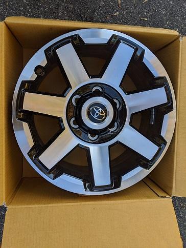 FS -  4x 5th Gen TRD OR Wheels - New Unused - Richmond VA 0 OBO-img_20191028_142832-jpg