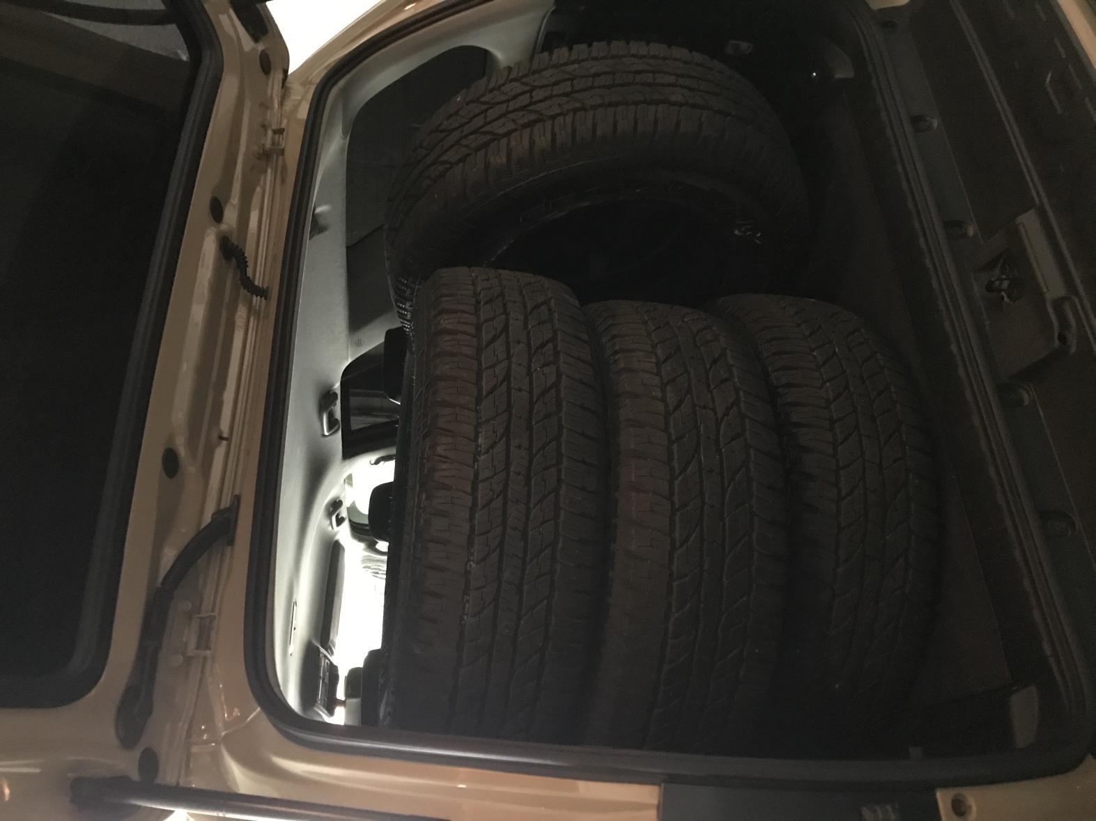 For Sale: 4 new Yokohama Geolander A/T Tires 0 - DC area-img_2502-jpg
