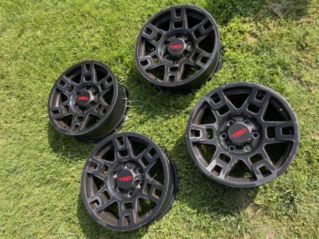 FS: TRD Pro Wheels, Matte Black, 0, Riverside, Ca-9c126ba8-adb8-471a-861b-2464ba67a82b-jpg