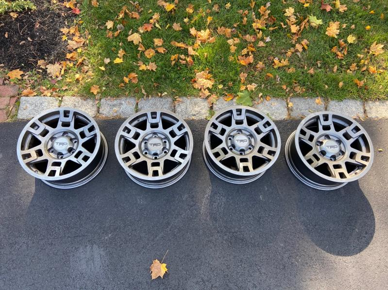 "OEM TRD Pro Gunmetal Wheels (17"").  0 - Boston, MA-img_7550-jpg"