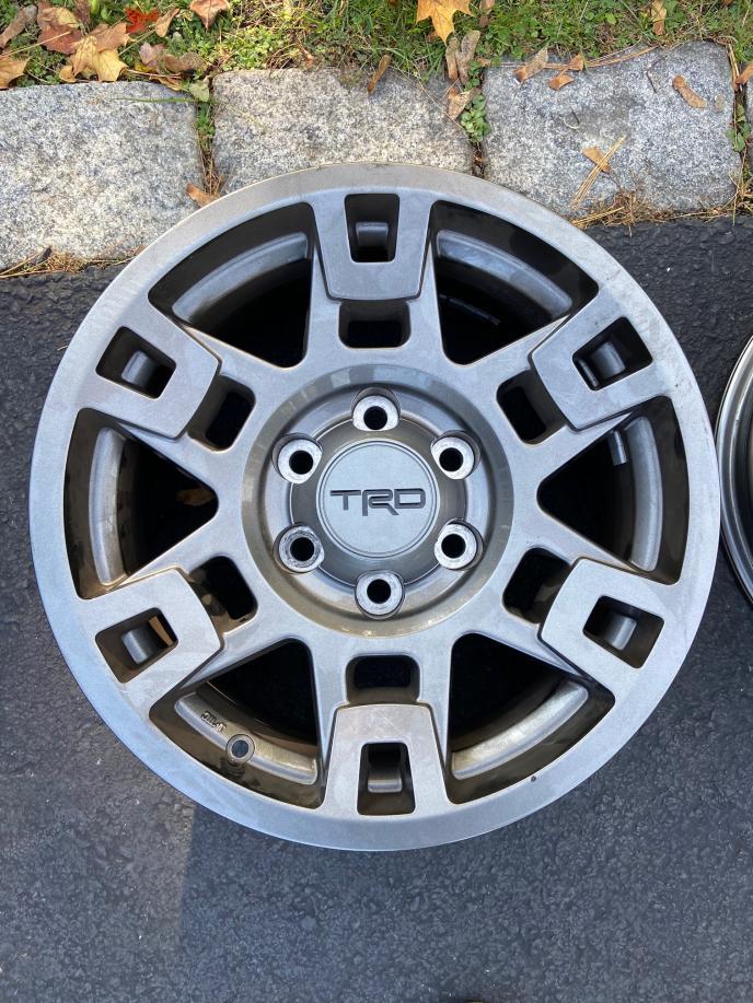 "OEM TRD Pro Gunmetal Wheels (17"").  0 - Boston, MA-img_7551-jpg"