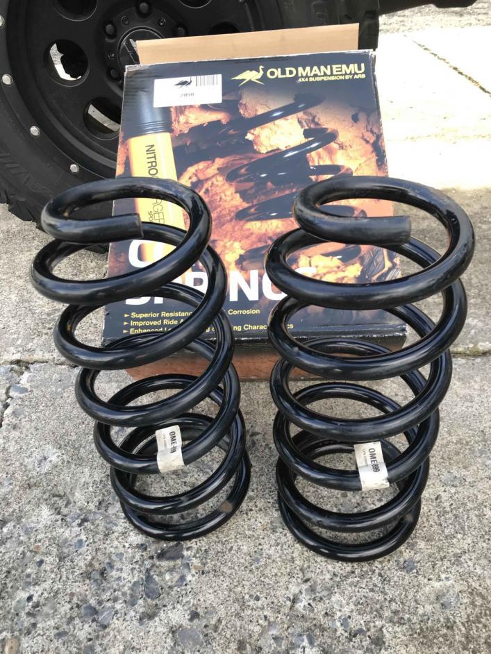 "FS: OME 2.5-3"" Rear Lift Coils 899 Heavy Constant Load, 5 SLC UT-spring1-jpg"