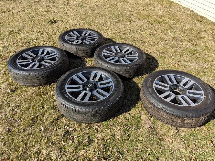 """FS: 5th GEN 20"""" Limited wheels x5 - 0 Jackson, MI-pxl_20210320_201425664-jpg"""
