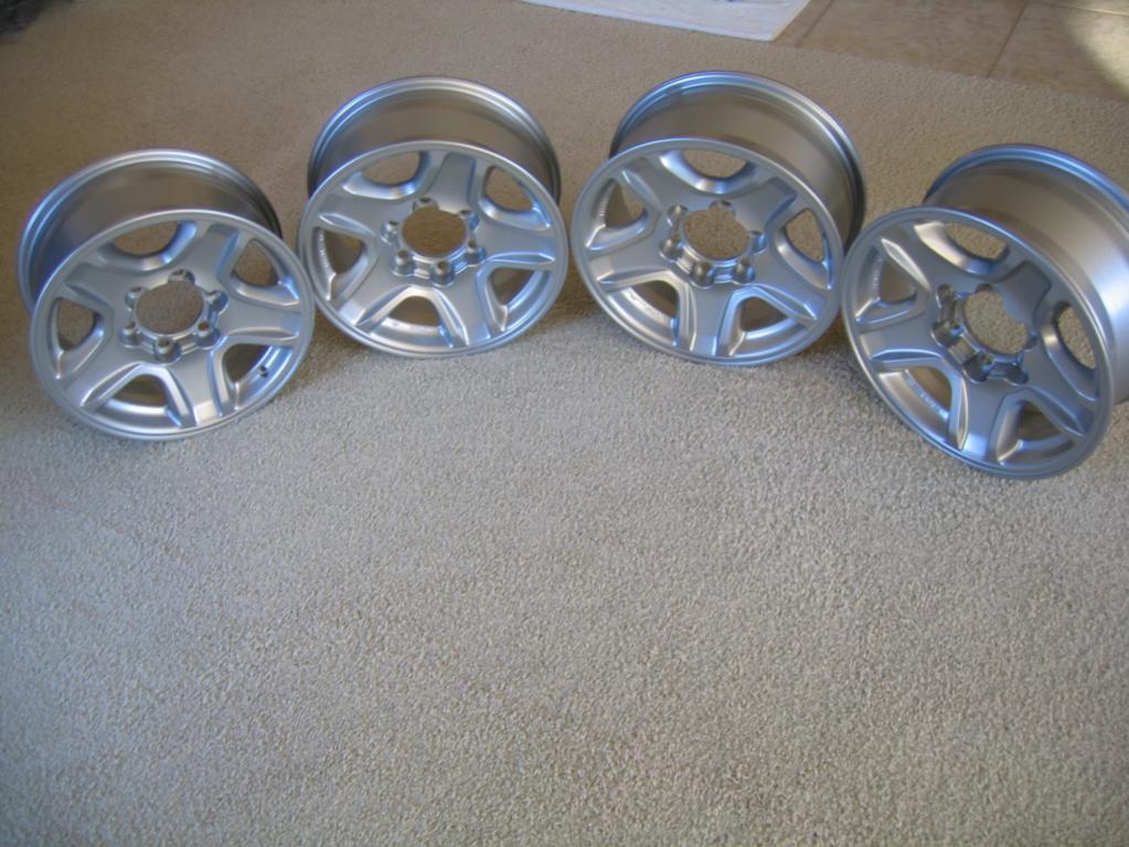 4 OEM TOYOTA 1999-2002 4RUNNER Limited alloy rims-img_5287-jpg