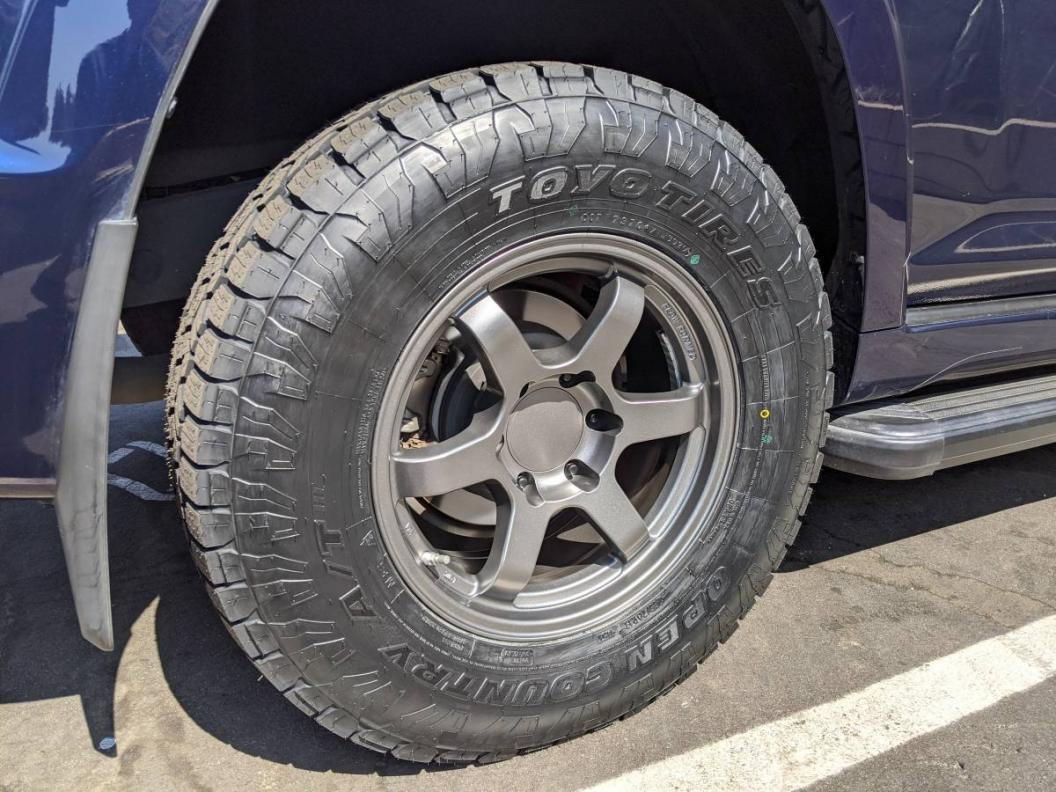 FS: FN Wheels Konig Six Shooter + Toyo Open Country AT/III Tires & Spare - California-1-jpg