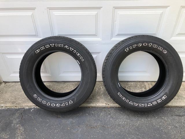 FS2x P265/60R18 Firestone Destination LE2 Highway Tires,  each, Livingston NJ-img_9051-jpg