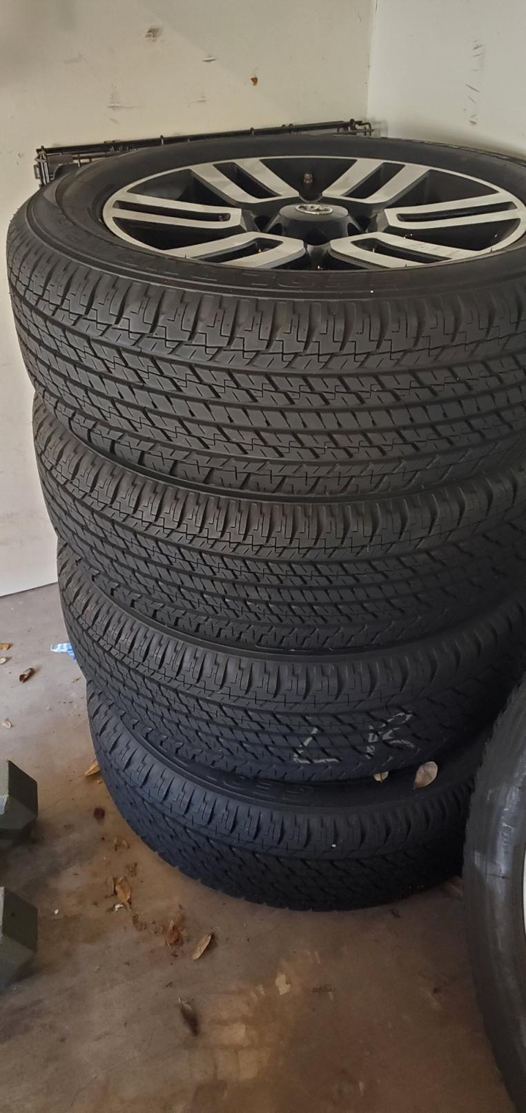 "5th Gen Limitied 4Runner 5 20"" wheels+tires Houston Tx 00-20210829_084159-jpg"