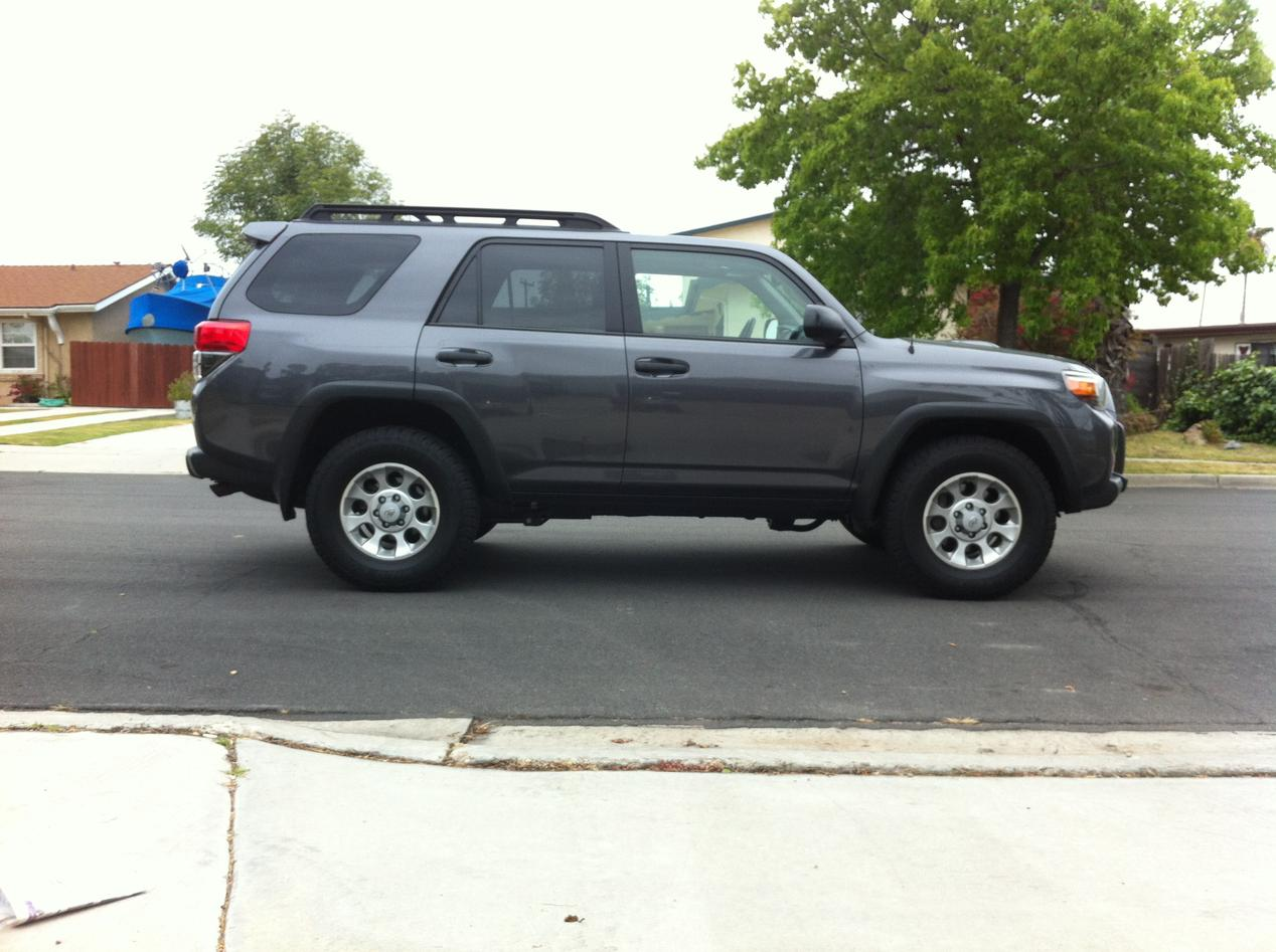 4 Trail Edition 17 Quot Wheels From 2010 Te And Tires Toyota