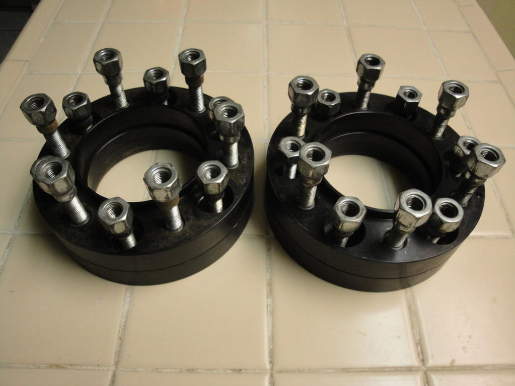 1 Inch Wheel Spacers : Bora inch wheel spacers toyota runner forum largest