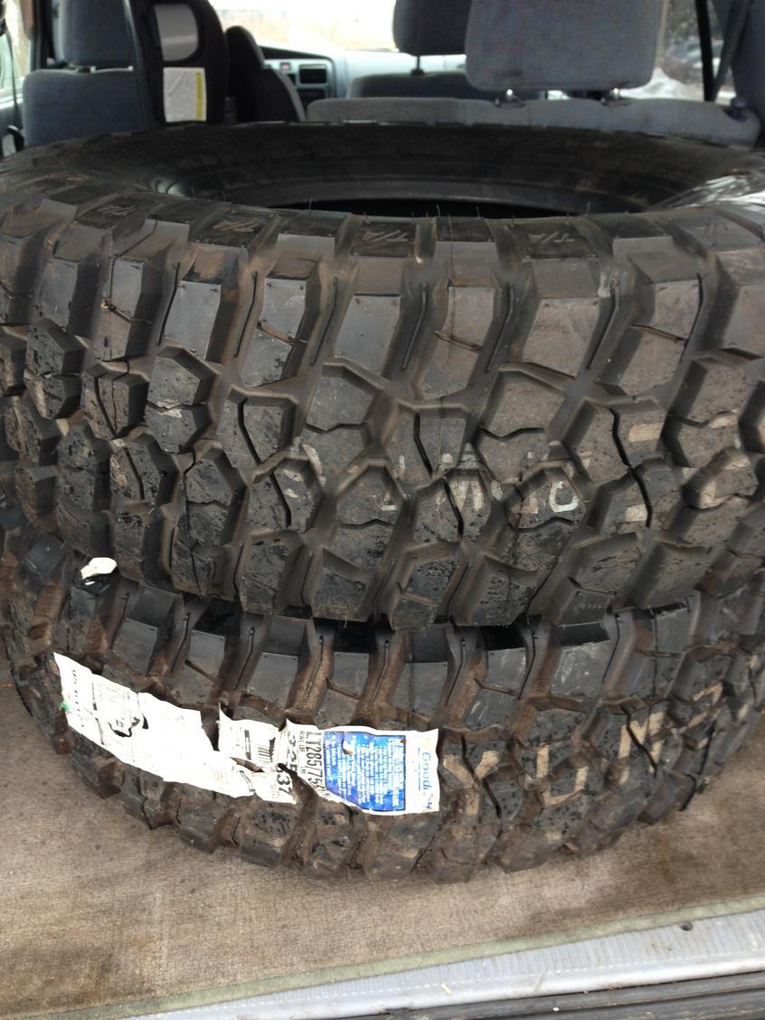 brand new pair bfg 28575r16 mud terrain km2 chicago area ttora forum