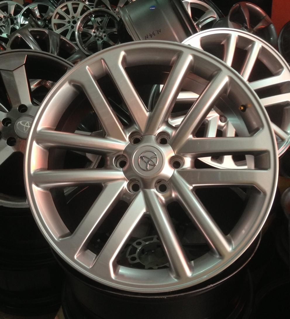 a replacement wheels factory machined gray rim oem highlander mgm toyota hol used stock wheel rims