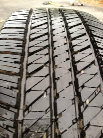 Toyota Winchester Va >> FS: Stock Bridgestone Dueler 265/70/17 tire - Toyota ...