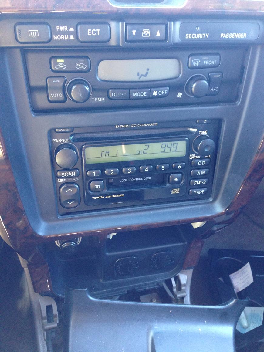 2002 4runner Stereo Head Unit W Factory Amp Toyota