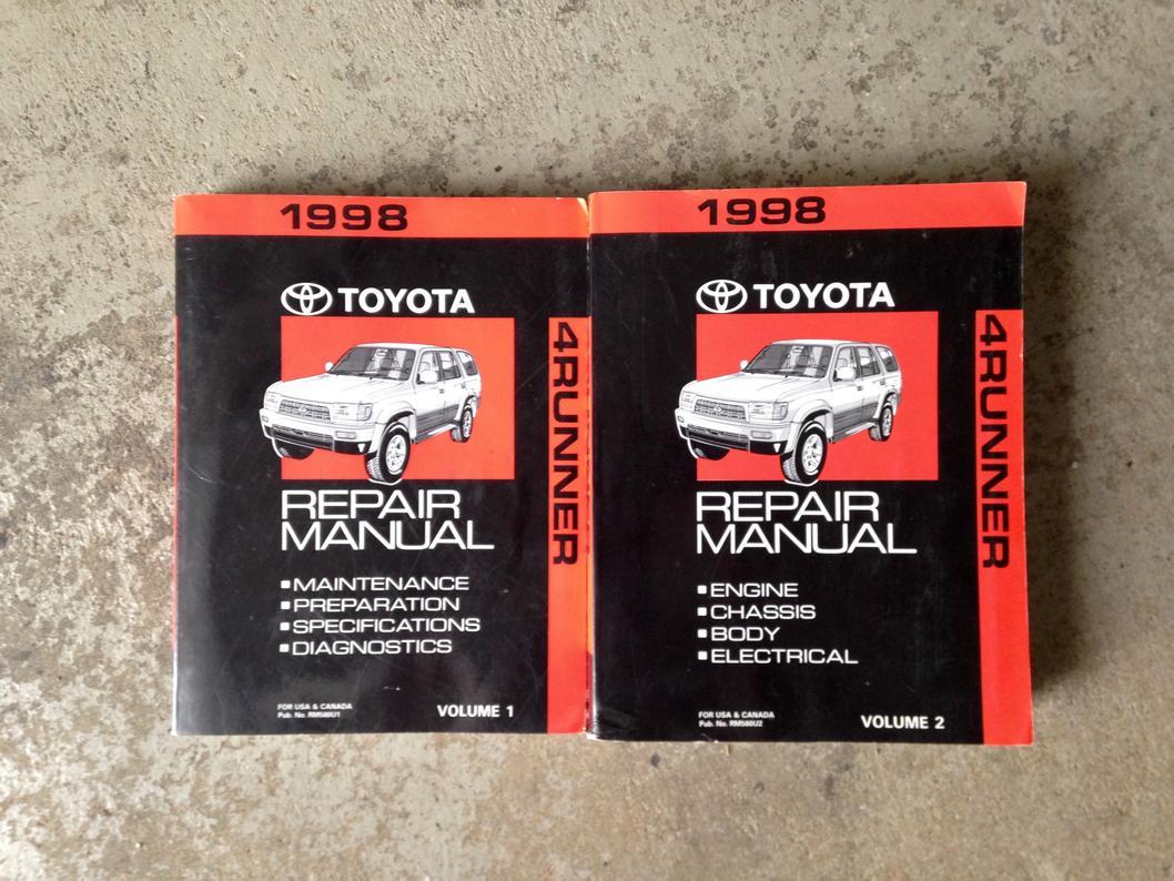 1998 toyota 4runner repair manual