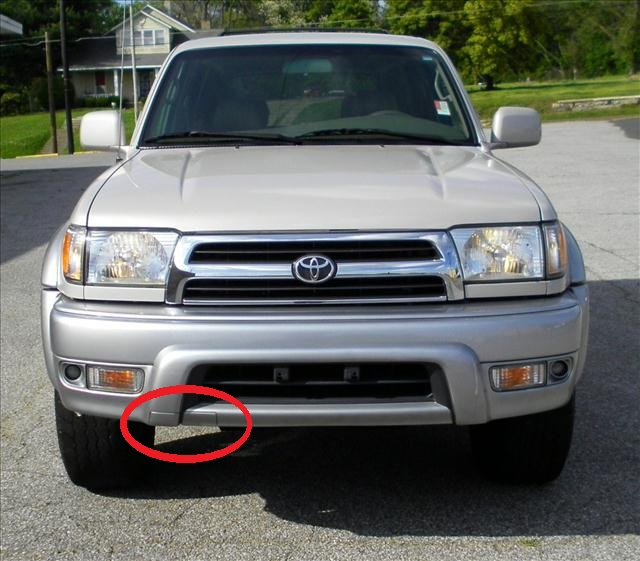 New 4runner In The Junkyard Parts For Sale Alabama Page 2 Rhtoyota4runnerorg: 2000 4runner Front Bumper Schematic At Gmaili.net