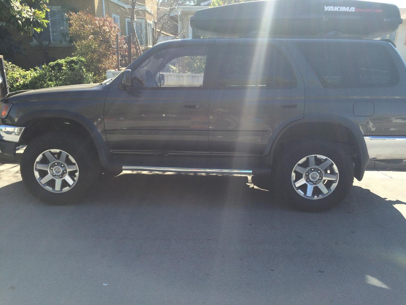 fs mint 2016 4runner trail premium wheels with tires and tpms sensors toyota 4runner forum. Black Bedroom Furniture Sets. Home Design Ideas