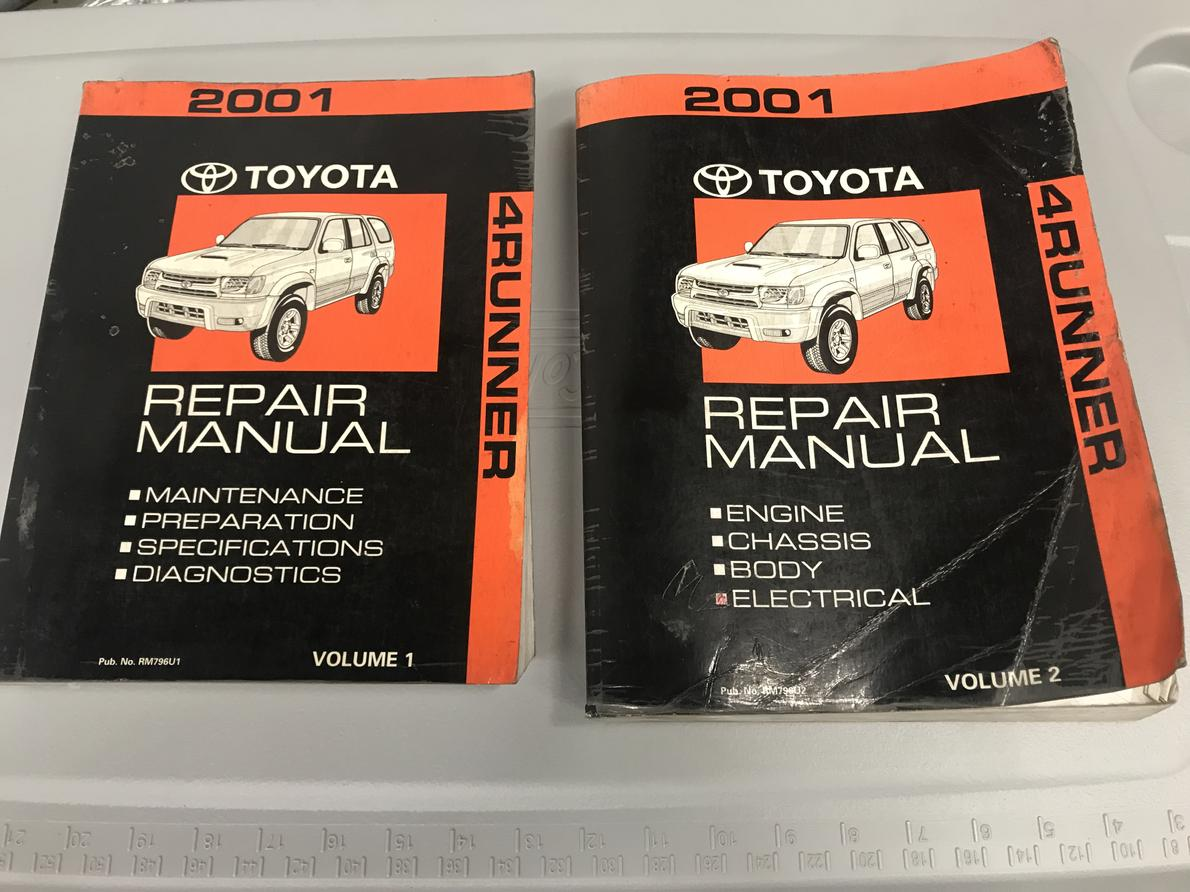 factory service manuals toyota