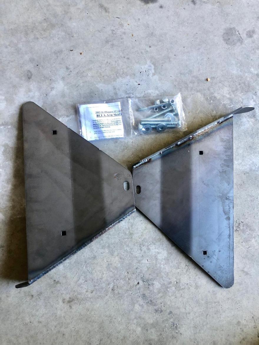 FS: 5th Gen - RCI LCA Skid and Toytec suspension parts. NorCal (Stockton, CA)-rci-lca-skid-jpg