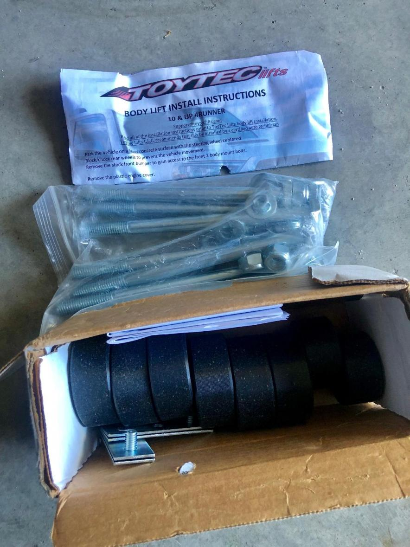 FS: 5th Gen - RCI LCA Skid and Toytec suspension parts. NorCal (Stockton, CA)-toytec-body-lift-kit-jpg