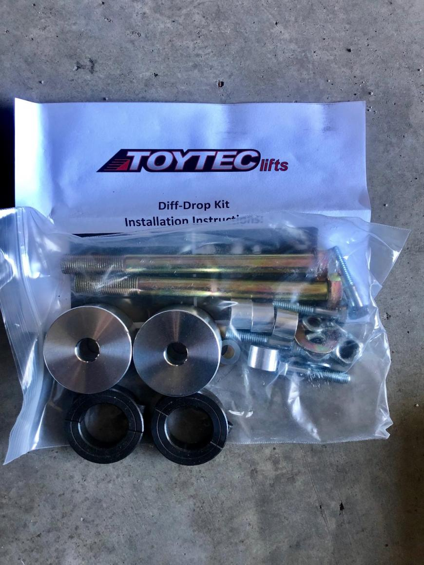 FS: 5th Gen - RCI LCA Skid and Toytec suspension parts. NorCal (Stockton, CA)-toytec-diff-drop-kit-jpg