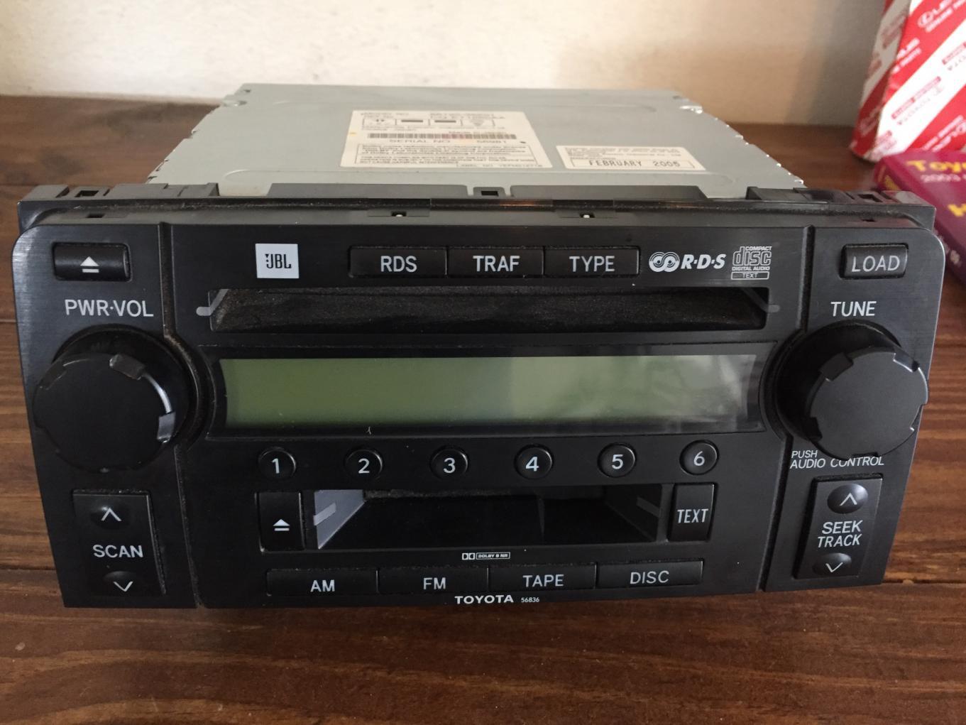 FS: 4th Gen JBL radio / CD player //  // Tacoma, WA-img_7951-jpg