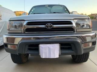 FS: OEM 3d gen front bumper assembly; 5, small ding in chrome; San Diego CA-bumper1-jpg