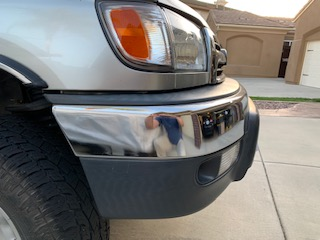 FS: OEM 3d gen front bumper assembly; 5, small ding in chrome; San Diego CA-bumper2-jpg