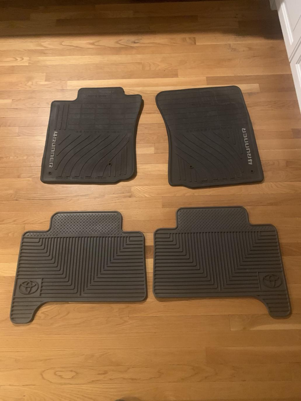 Like New Fourth Gen Factory All Weather Floor Mats -  plus shipping-img-9039-jpg