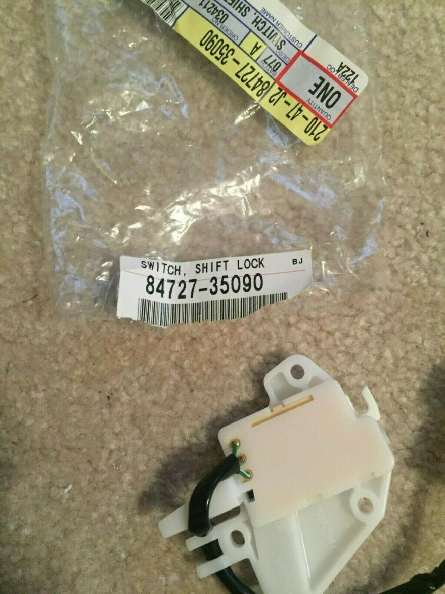 FS: 3rd Gen Switch Shift Lock Control 84727-35090 Chapel Hill, NC -s-l1600-1-jpg