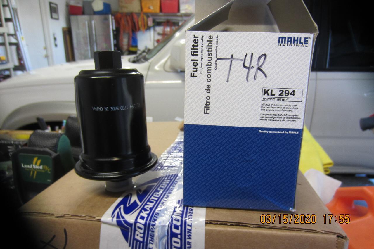 3RD Gen Fuel Filter - Mahle KL 294 - NO LONGER AVAILABLE-fuel_filter-jpg