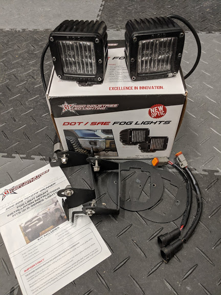 5th Gen Rigid Industries Fog Light Kit 5 Shipped-img_20200426_101832-jpg