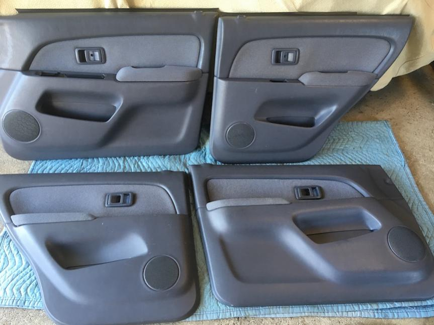 3rd Gen 4Runner Moon Mist door panels, SOLD, SF Bay Area-panels01-jpg