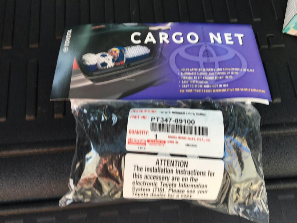 FS: 5th Gen Cargo Net -  - Orange County, CA-net01-jpg