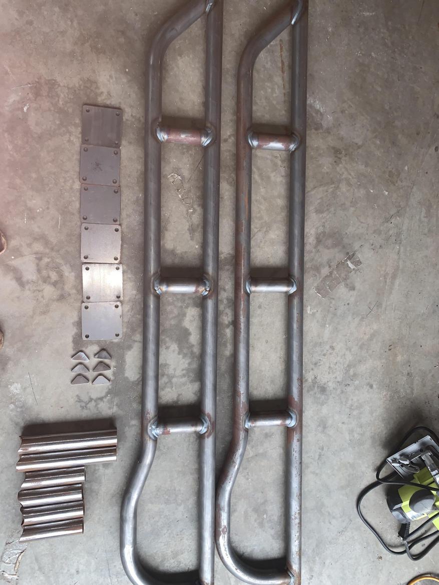 4x4 Innovation Rock Sliders Kit 66in - 3-5th gen - 5 -  Seattle WA-224h63b-jpg