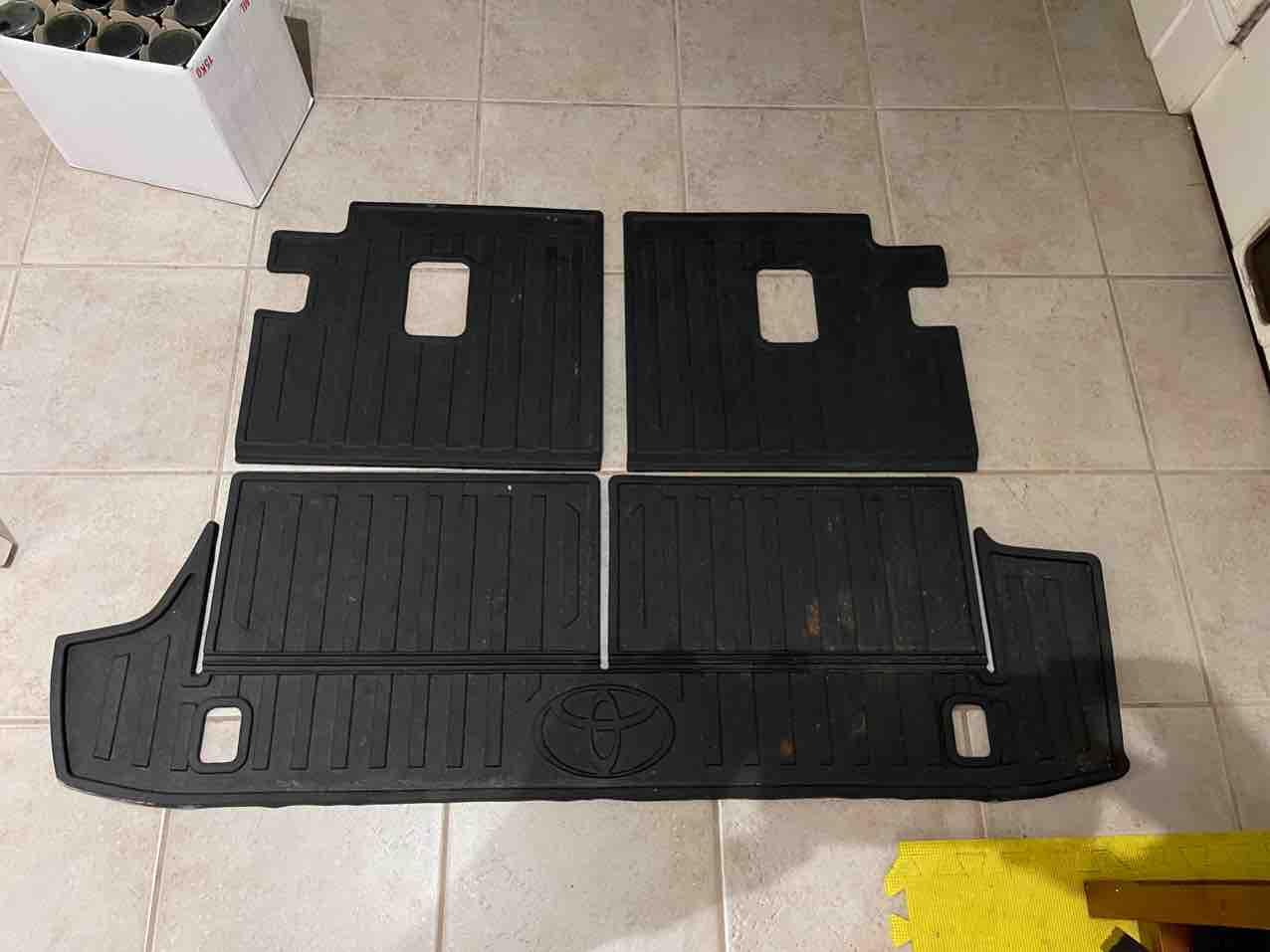 SOLD 5th Gen Toyota 4Runner Cargo Floor Mats for 3rd Row (NB Canada  CAD)-img_2803-jpg