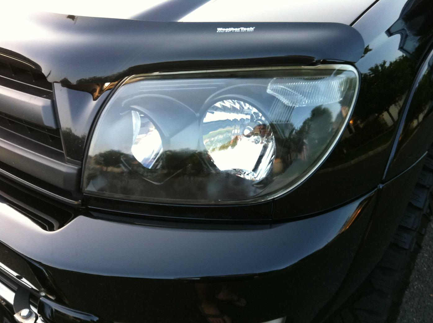 Blacked Out Oem Headlights For Sale 03 05 Toyota