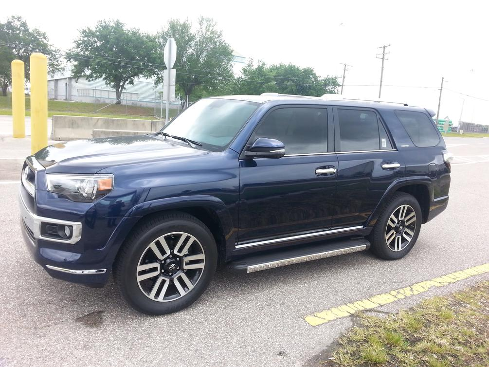 5th gen 2014 4runner limited blue 40k tampa fl toyota 4runner forum largest 4runner forum. Black Bedroom Furniture Sets. Home Design Ideas